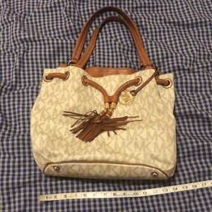 Michael Kors purse and cell phone wallet